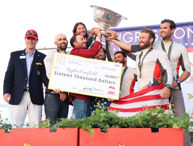 Congressional Cup--2 Credit Bronny Daniels